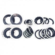 Шайбы металлические с резиновым уплотнителем